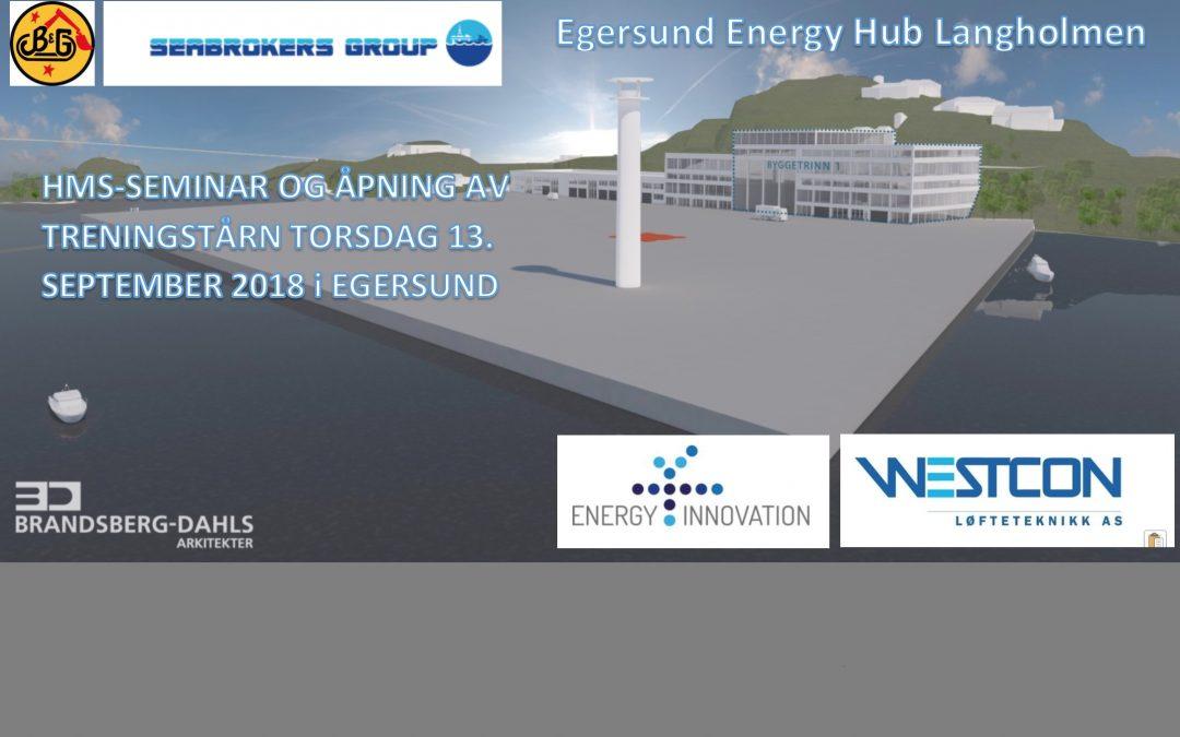 Åpning av Nordens første vindspesifikke treningstårn på Langholmen