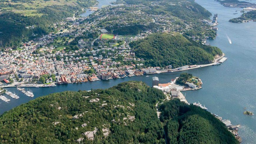 Bybåt i Egersund